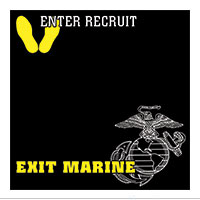 Paper, Enter Recruit, Exit Marine