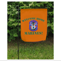 Garden Flag: MWHS 2 Homecoming
