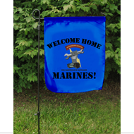 Garden Flag: 2nd Maint Btn Homecoming