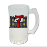 Frosted Stein: 7th ESB Crest