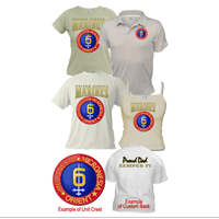 Custom Division (6th Mar Div) Apparel (Short Sleeve)