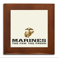 Framed Tile: The Few The Proud