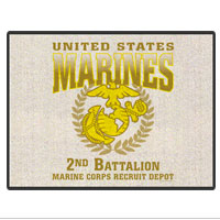 Doormat: 2nd  Recruit Btn  (18x24)