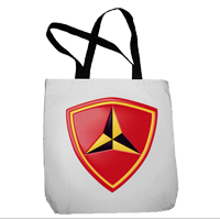 Tote Bag: 3rd Marine Regiment (16x16)