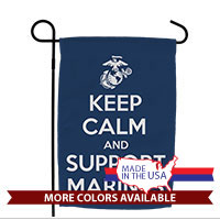 Garden Flag: KEEP CALM