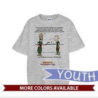 _T-Shirt (Youth): SemperToons - 20 Questions