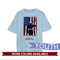 _T-Shirt (Youth): SemperToons - For Country