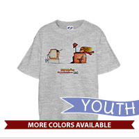 _T-Shirt (Youth): SemperToons - TV
