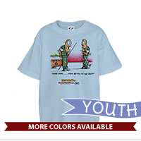 _T-Shirt (Youth): SemperToons - 1st Sgt Say