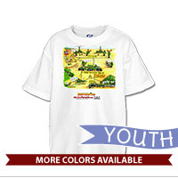 _T-Shirt (Youth): SemperToons - Battery in the Field