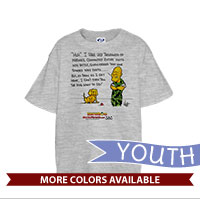 _T-Shirt (Youth): SemperToons - Dog What to Do