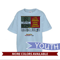 _T-Shirt (Youth): SemperToons - Tough Forever