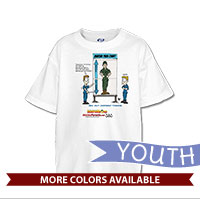 _T-Shirt (Youth): SemperToons - Pain Chart