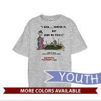 _T-Shirt (Youth): SemperToons - Send Pies