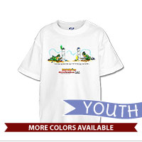 _T-Shirt (Youth): SemperToons - I Got You First!