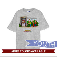 _T-Shirt (Youth): SemperToons - Hard Corps ATM