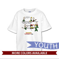 _T-Shirt (Youth): SemperToons - In the Band