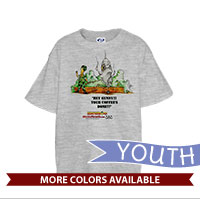 _T-Shirt (Youth): SemperToons - Coffee's Done!