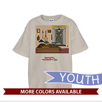 _T-Shirt (Youth): SemperToons - Break Glass