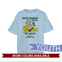 _T-Shirt (Youth): SemperToons - Baby Marine