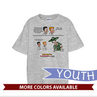 _T-Shirt (Youth): SemperToons - DI Object