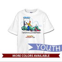 _T-Shirt (Youth): SemperToons - Superman