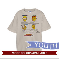 _T-Shirt (Youth): SemperToons - Recruiting Techniques