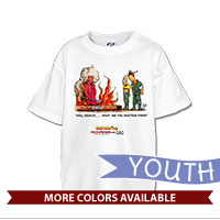 _T-Shirt (Youth): SemperToons - Recruit, What You Waiting For?
