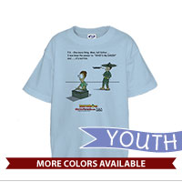 _T-Shirt (Youth): SemperToons - PS Tell Dad