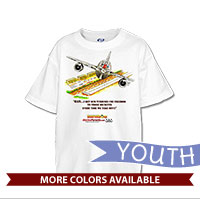 _T-Shirt (Youth): SemperToons - Turbines Cry Freedom