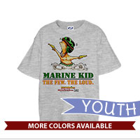 _T-Shirt (Youth): SemperToons - The Few The Loud