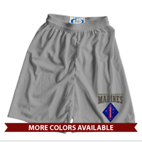 _Athletic Shorts: 1st Marine Division (Unisex)