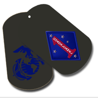 Dog Tag Set: 1st Marine Division