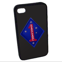 Cell Phone Cover: 1st Marine Division w/ Choices