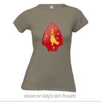 _T-Shirt (Ladies): 2nd Marine Division