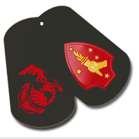 Dog Tag Set: 2nd Marine Division