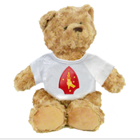 Plush Teddy Bear: 2nd Marine Division (customizable)