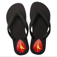 Flip Flops: (adult or youth sizes) 2nd Marine Division