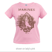 __Vintage T-Shirt (Ladies): 2nd Marine Division