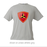 _Microfiber Shirt: 3rd Marine Division (Unisex, Ladies & Youth)