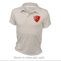 _Polo: 3rd Marine Division (Unisex)