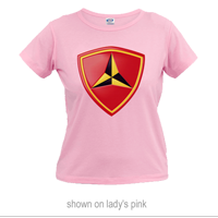 _T-Shirt (Ladies): 3rd Marine Division