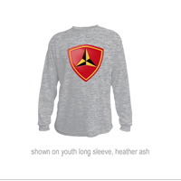_Youth Hoodie or Long Sleeve Shirt: 3rd Marine Division