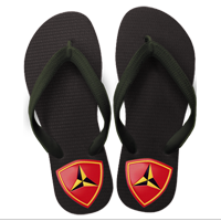 Flip Flops: (adult or youth sizes)3rd Marine Division