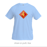 _T-Shirt (Youth): 4th Marine Division