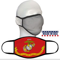 Face Covering: Likeness of the Marine Corps Flag