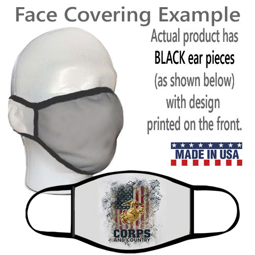 Face Covering: Corps & Country