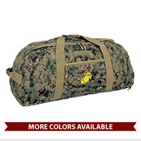 Duffel Bag: Giant Duffel w/ EGA Embroidery