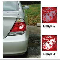 Decal, Tail Light, Marine Corps EGA