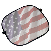 Auto Shade (Side): American Flag Likeness